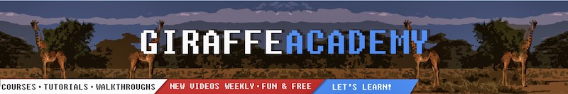 Mike Dane / Giraffe Academy Channel Banner