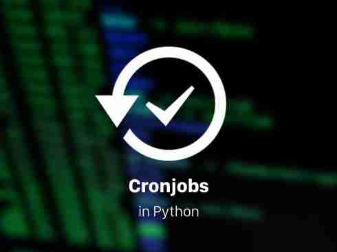 How to Schedule Cronjobs in Python