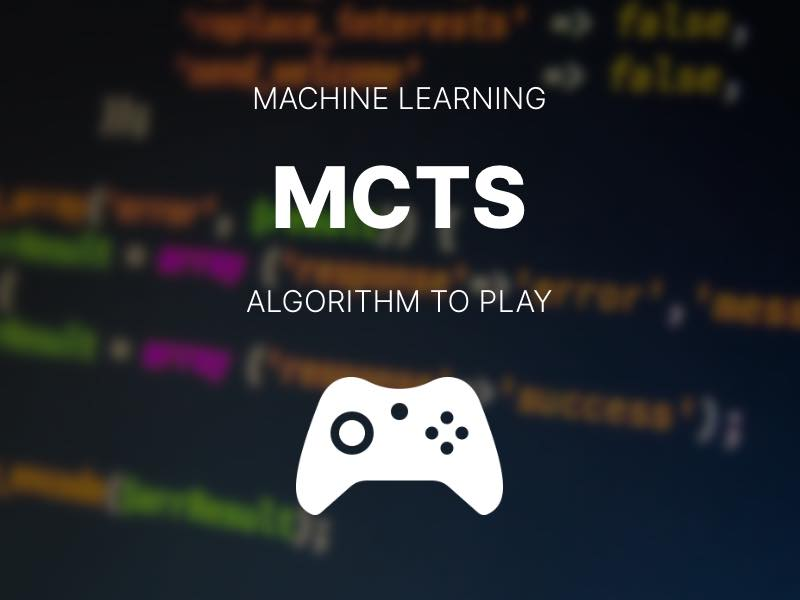 Using the Monte Carlo Tree Search Algorithm in an AI to Beat 2048 (and other games)