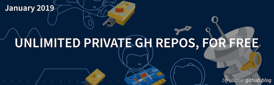 GitHub Gives Us Unlimited Private Repos Photo